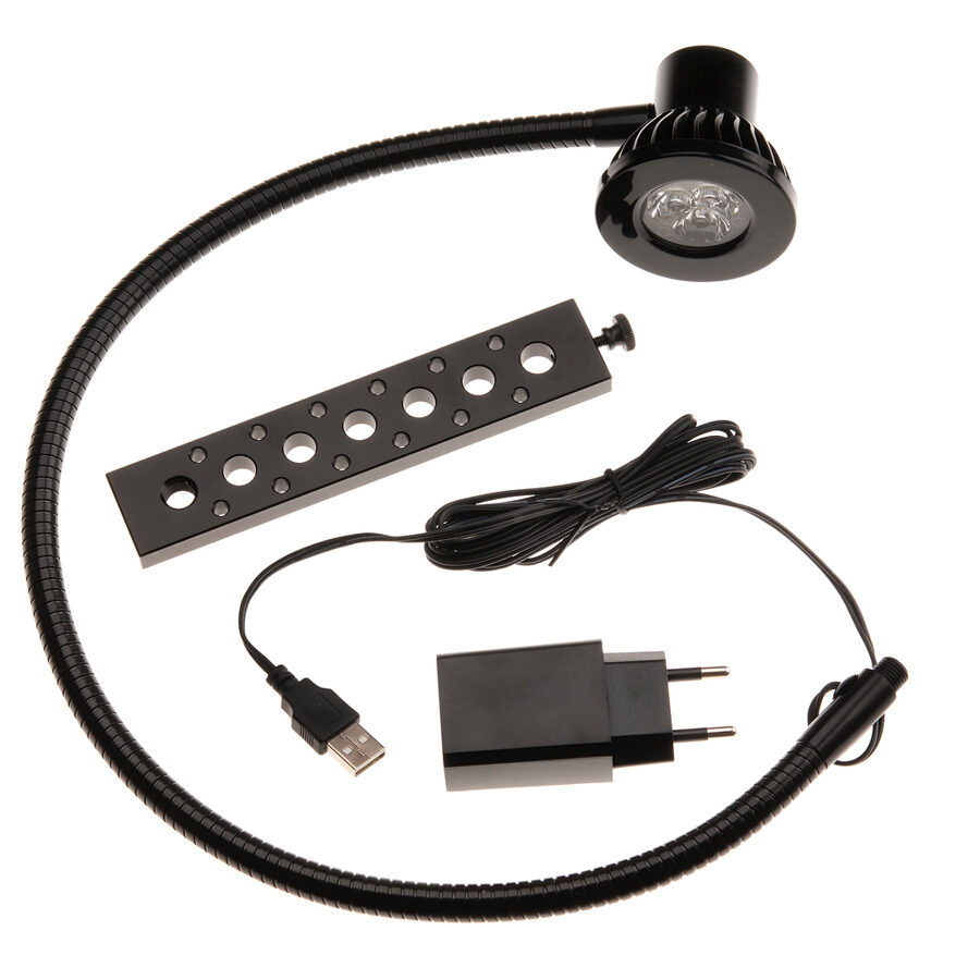 DK Daylight lampe med USB.